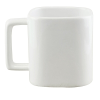Square Mug 151 (320ml white color) - hmi74151