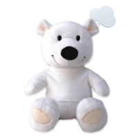Teddy Bear 251 (white 20cm teddy bear) - hmi95251