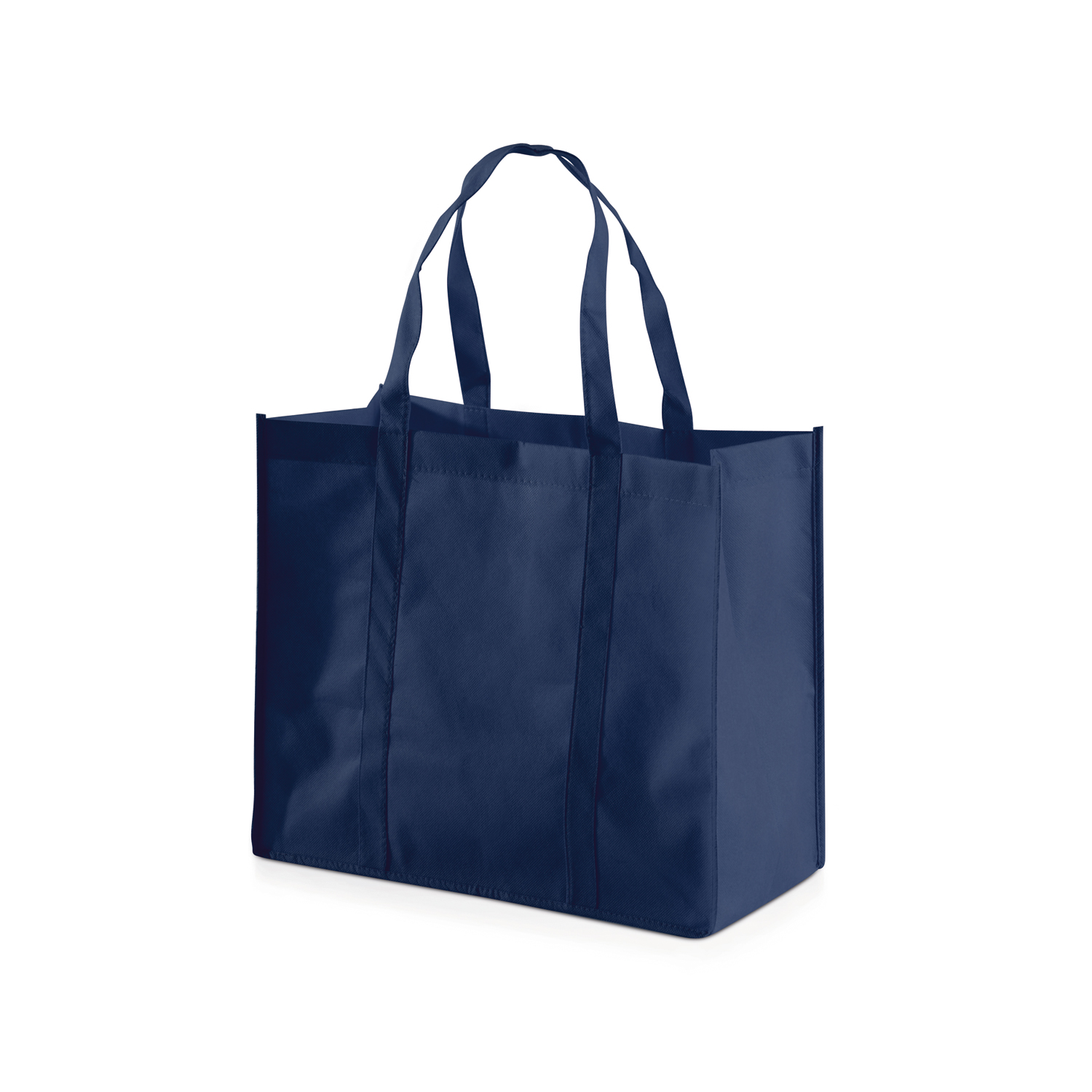 Shopping Bag 013 (Non-woven Shopping bag) - hmi17013-08 (Dark Blue)