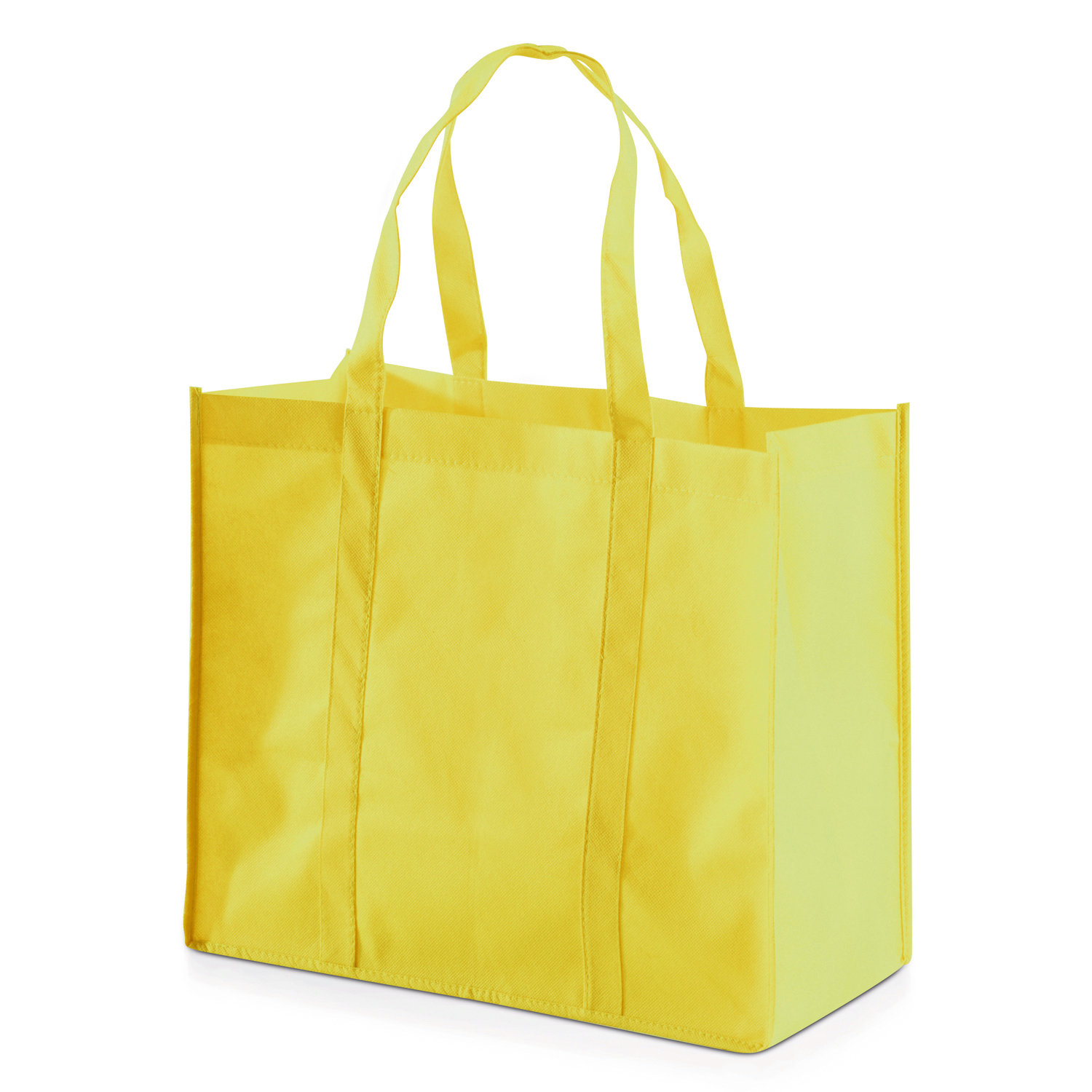 Shopping Bag 013 (Non-woven Shopping bag) - hmi17013-12 (Yellow)