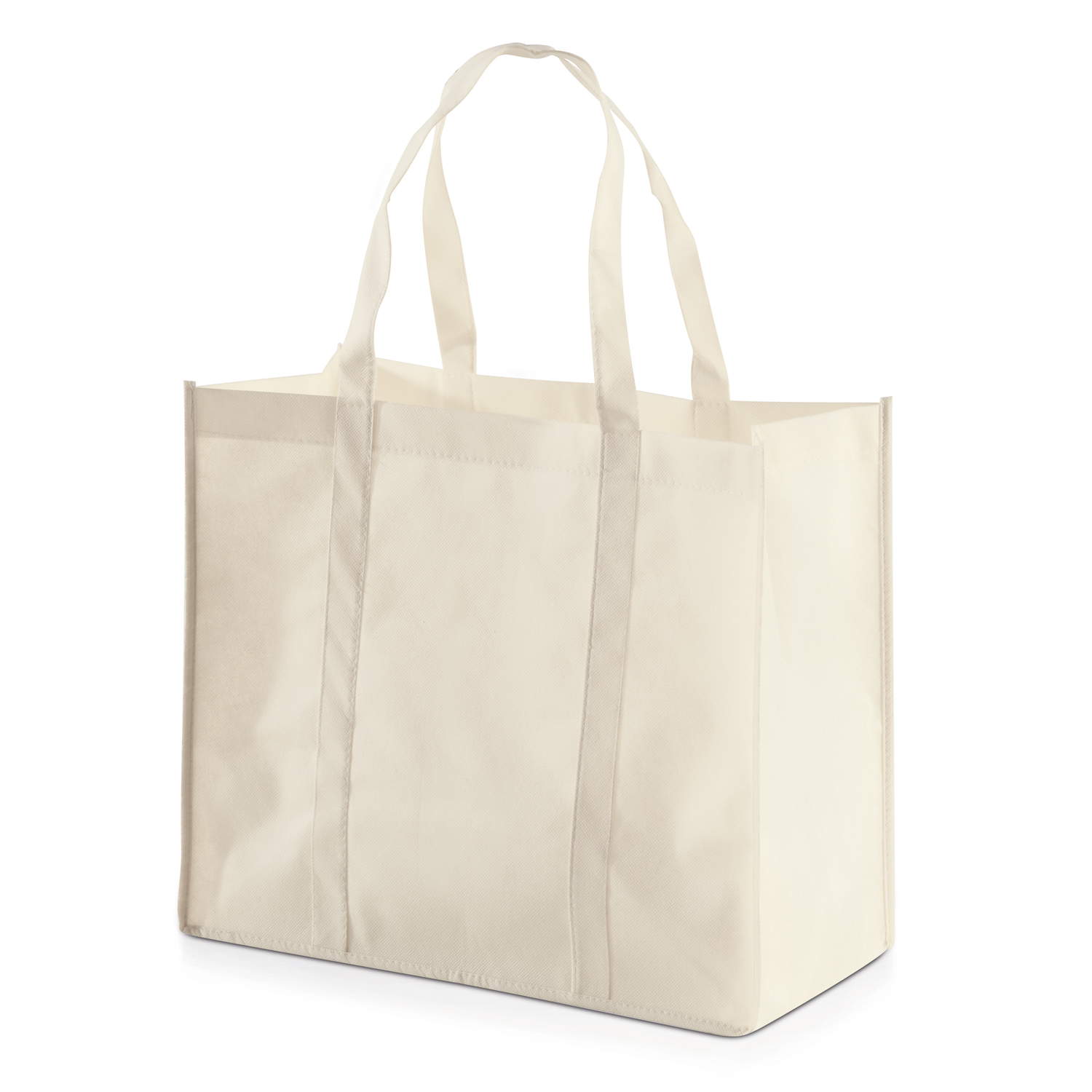 Shopping Bag 013 (Non-woven Shopping bag) - hmi17013-14 (White off)