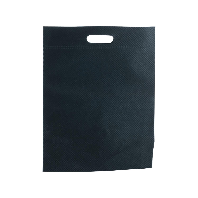 Shopping Bag 022 (Non-woven shopping bag) - hmi17022-01 (Black)