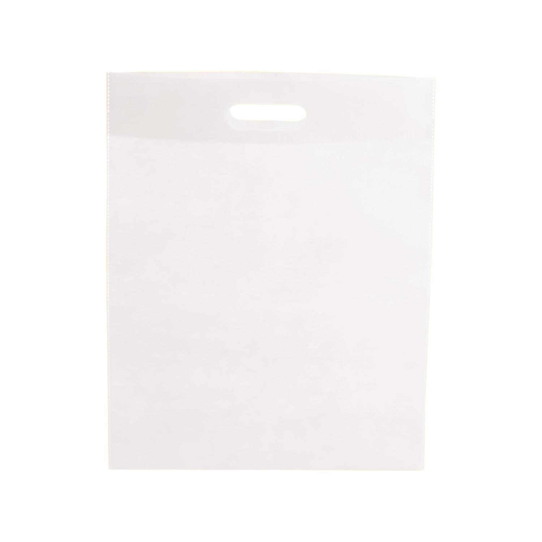 Shopping Bag 022 (Non-woven shopping bag) - hmi17022-02 (White)