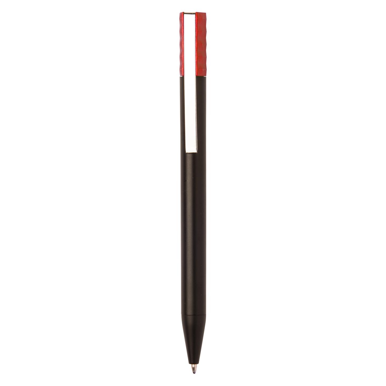 Black Plastic Pen - hmi20271-04 (Red)