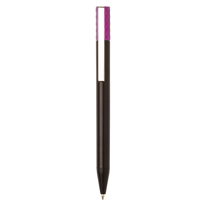 Black Plastic Pen - hmi20271-06 (Pink)