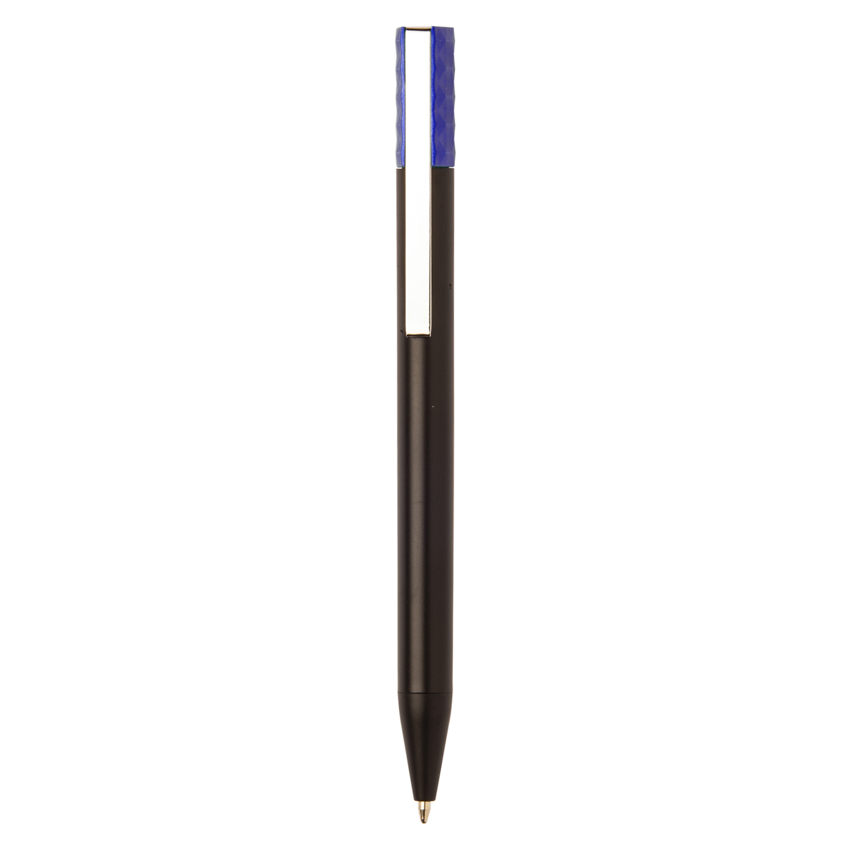 Black Plastic Pen - hmi20271-13 (Purple)