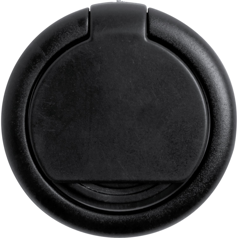 Phone Ring 868 (Plastic phone holder and phone ring) - hmi26868-01 (Black)