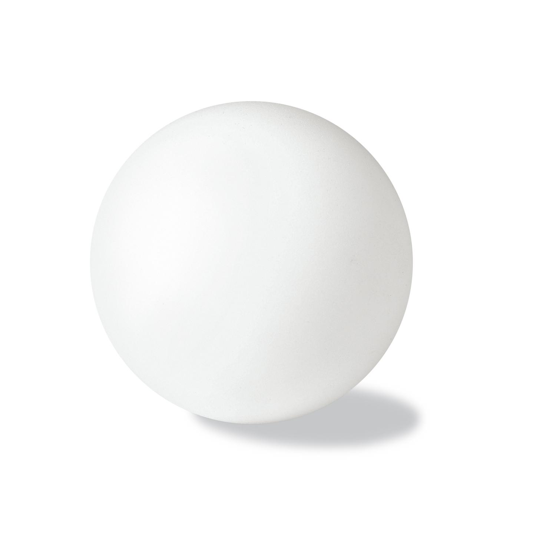 Anti-Stress Ball (Foam Rubber) - hmi29054-02 (White)