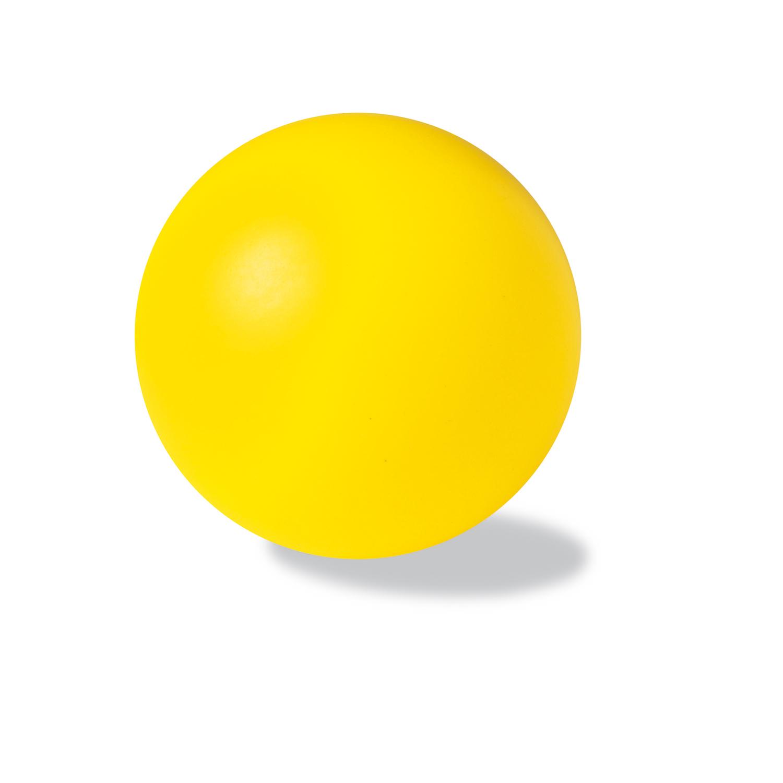 Anti-Stress Ball (Foam Rubber) - hmi29054-12 (Yellow)