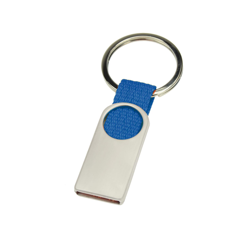 Keychain 007 (Metal keyring) - hmi46007-07 (Blue)