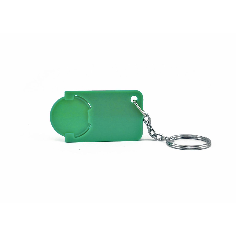 Keychain 039 (Shopping Trolley coin keychain) - hmi47039-09 (Green)