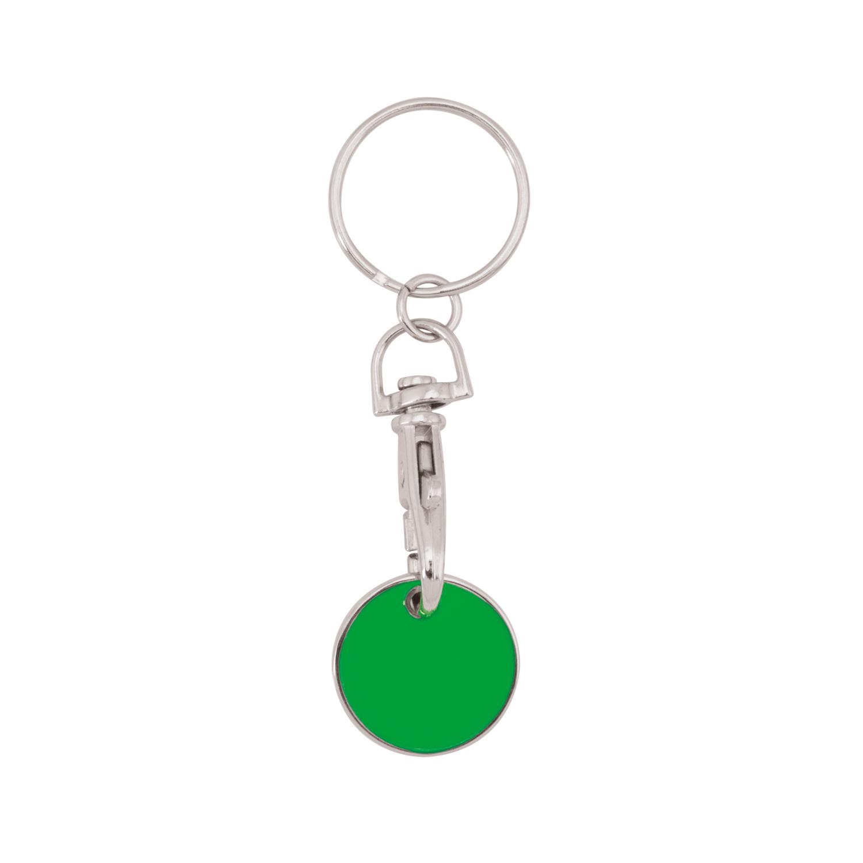 Keychain 059 (Shopping trolley coin keychain) - hmi47059-09 (Green)