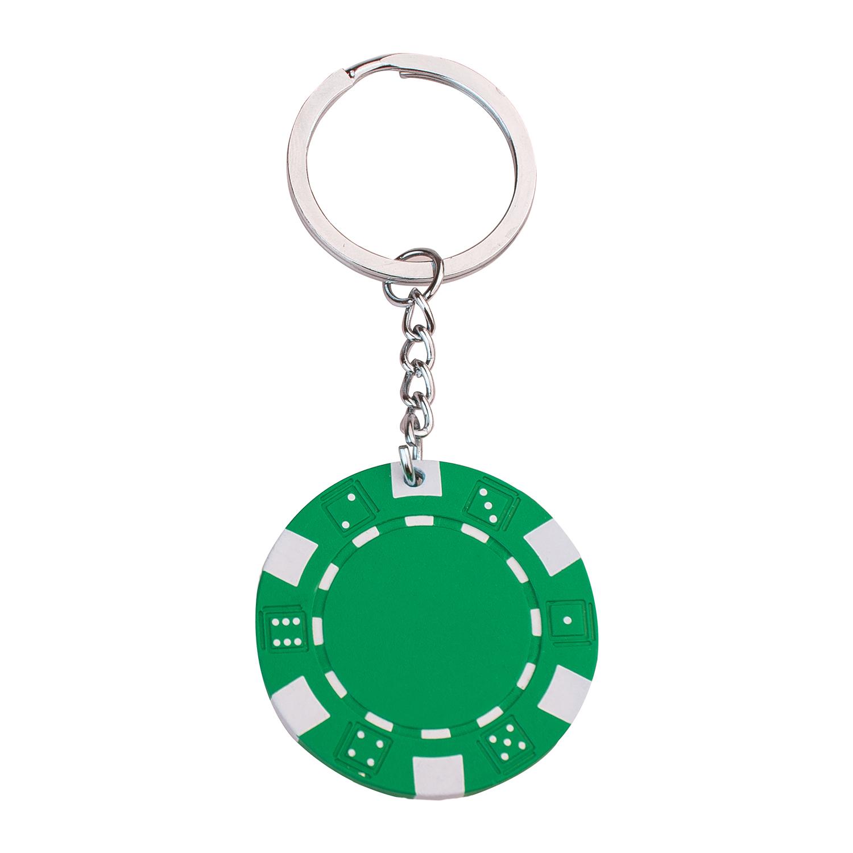 Poker chip keychain 143 - hmi47143-09 (Green)