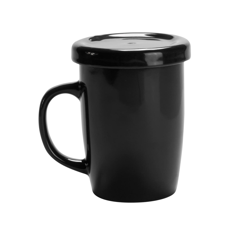 Mug 127 (Tea cup with tab) - hmi74127-01 (Black)