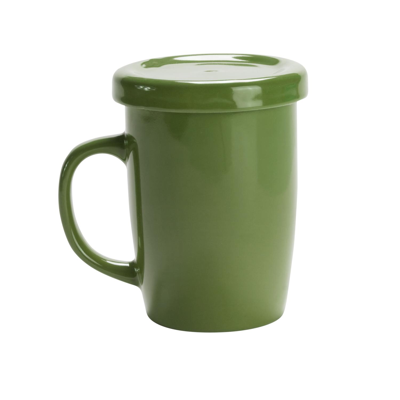 Mug 127 (Tea cup with tab) - hmi74127-09 (Green)