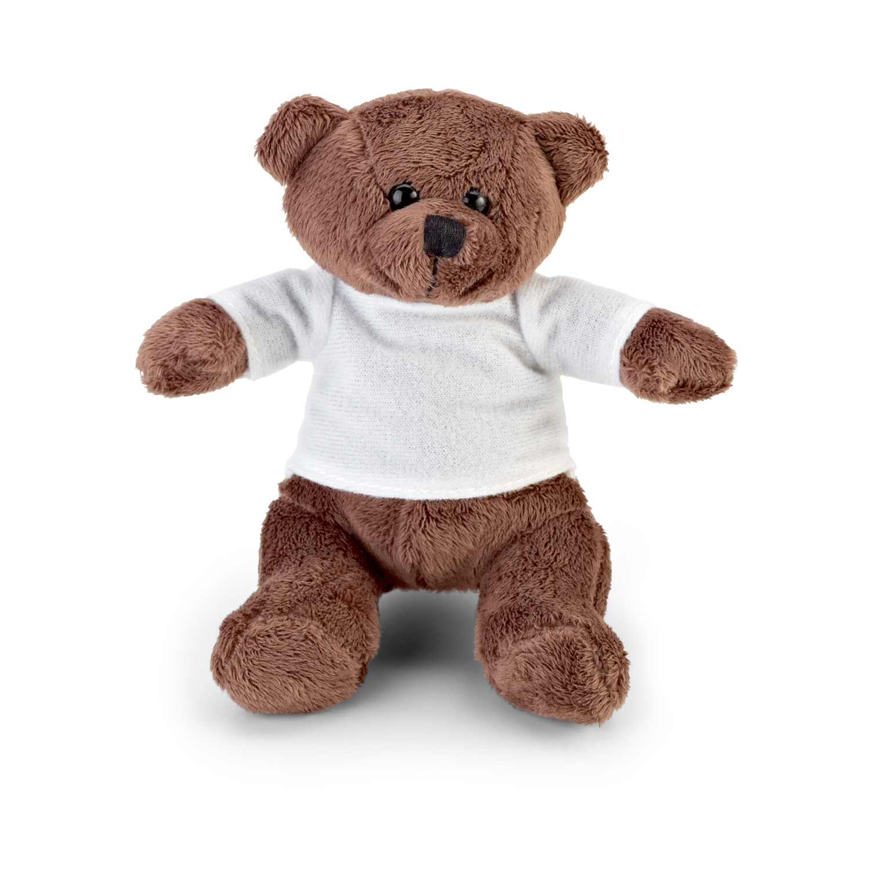 Teddy Bear 256 (mini bear doll with white t-shirt) - hmi95256