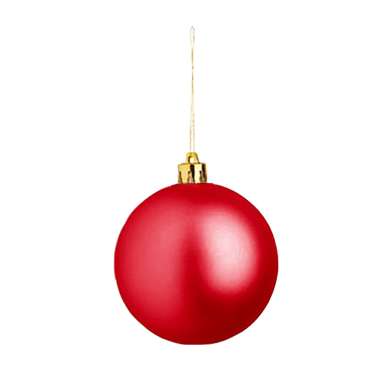 Christmas Ball (Christmas ornament 8cm) - hmi99099-04 (Red)
