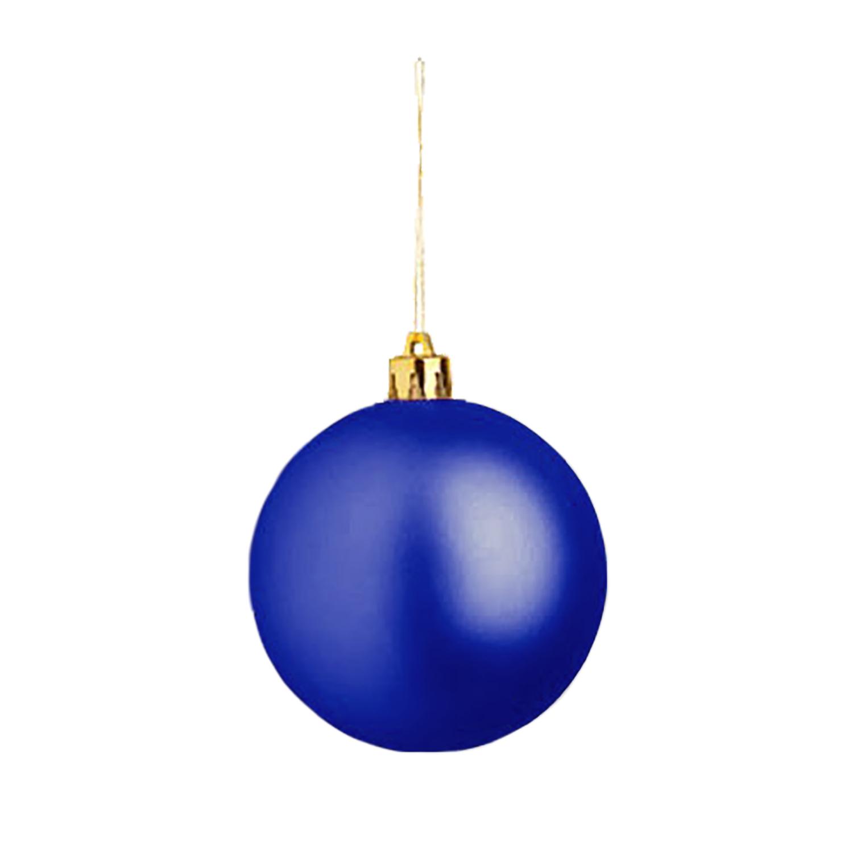 Christmas Ball (Christmas ornament 8cm) - hmi99099-07 (Blue)