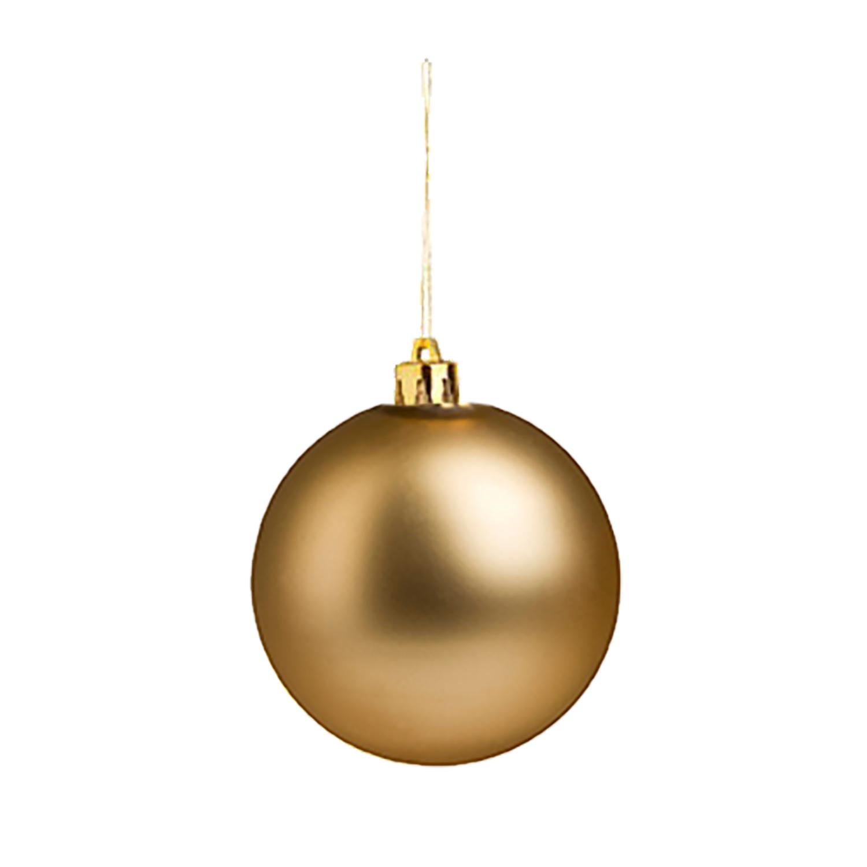 Christmas Ball (Christmas ornament 8cm) - hmi99099-14 (Gold)
